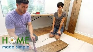 Desk And Shelf Combo Anyone Can Make | Home Made Simple | Oprah Winfrey Network
