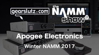 Roger from Apogee Electronics shows us a number of new and upcoming...