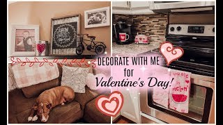 DECORATE/CLEAN WITH ME FOR VALENTINE'S DAY! | 2019
