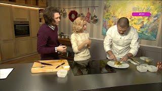 видео Рецепт салата с копчеными мидиями