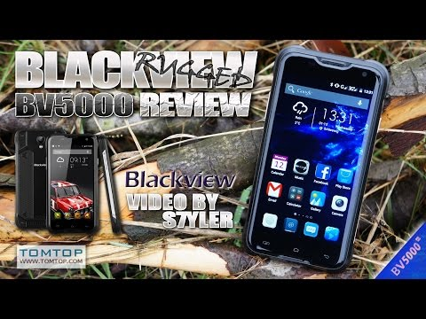 Blackview BV5000 (Review) Stylish Rugged/Outdoor smartphone - Video by s7yler