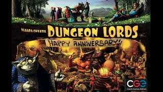 Dungeon Lords - Rules overview video
