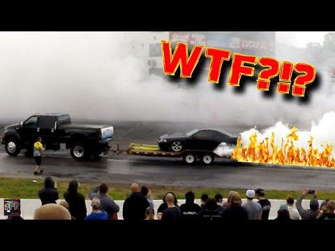DAY 2: HE DID A BURNOUT ON HIS TRAILER   Powercruise USA 2017 Day TWO