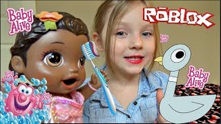 BABY ALIVE does her BEDTIME ROUTINE! The Lilly and Mommy Show. The TOYTASTIC Sisters.