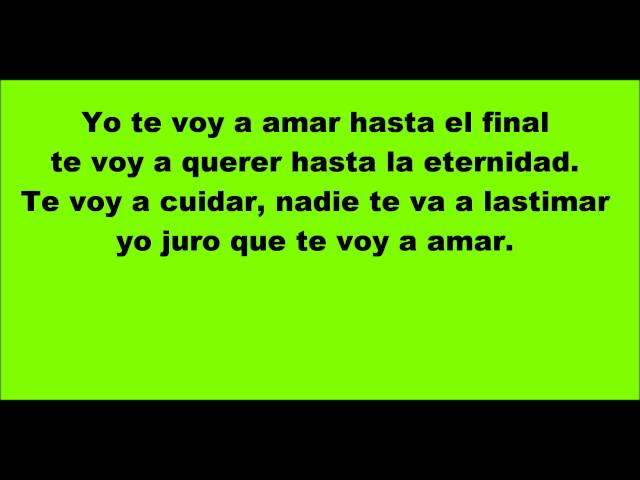 Hasta el final letra - David Bisbal Videos De Viajes