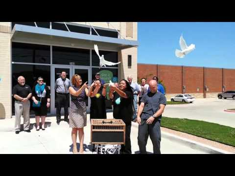 White  Dove release for NRH Modern Dentistry with Northeast Tarrant Chamber.