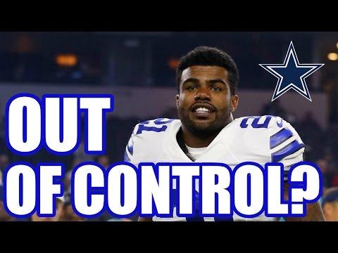 Ezekiel Elliott out of control?