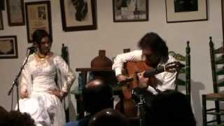 Beatriz Romero y Antonio Carrión. Granainas