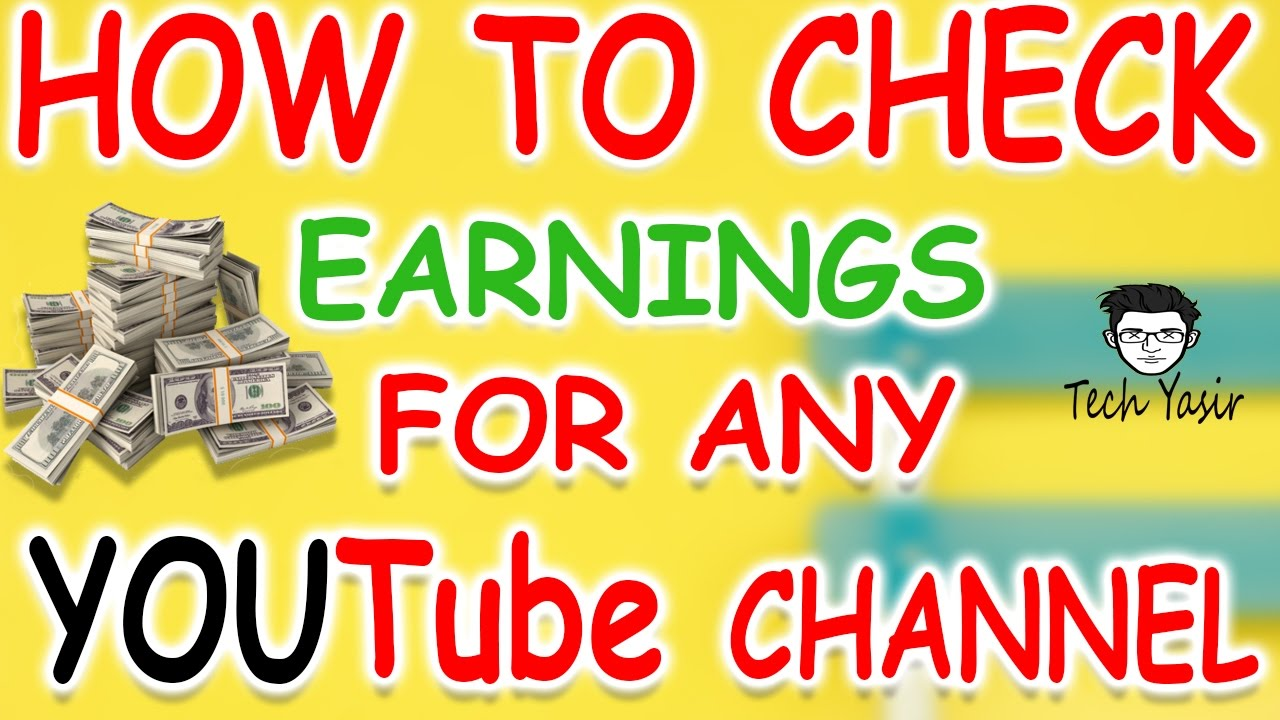How To Check Earnings For Any Youtube Channel Easy - YouTube