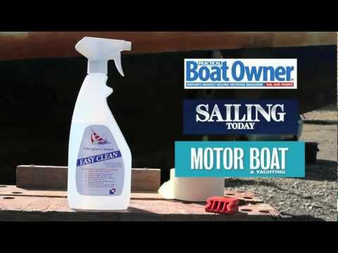 Best Boat Cleaner - How to clean a Boat effortlessly using Easy Clean Boat Cleaner
