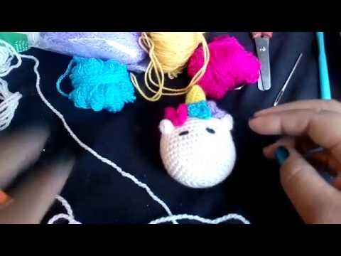 Como tejer Unicornio amigurumi tejido a crochet - Paso a Paso ... | 360x480