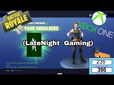 FortNite BattleRoyal! | Daily Live Stream 8 ( Xbox 1 LateNight Gaming )