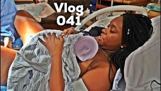 BIRTH OF BABY ROYCE | LABOR AND DELIVERY VLOG / STORY | EMOT...
