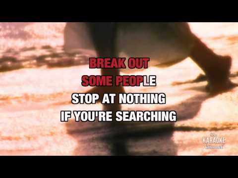 Breakout in the style of Swing Out Sister | Karaoke with Lyrics