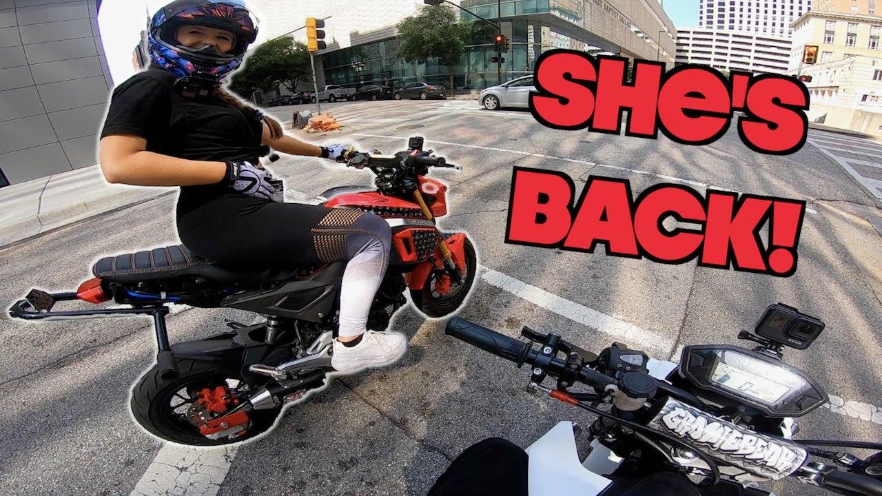 Surprised HER with her STOLEN Bike!