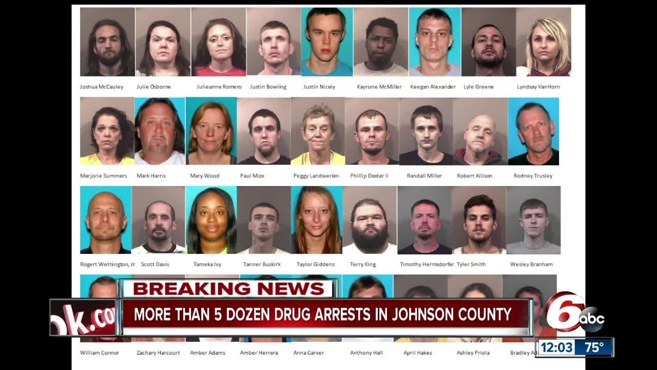 63 arrest warrants issued in multiple Johnson Co  meth investigations