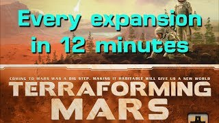 Learn Every Terraforming Mars Expansion in 12 Minutes