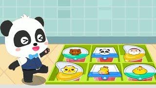 Nhà máy làm thức ăn của Gấu Trúc nhỏ - Bé học làm món Thạch Hoa Quả cùng Gấu Trúc
