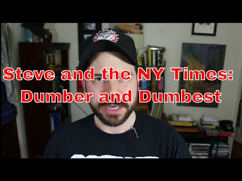 Steve Shives and the NY Times: A Perfect Match