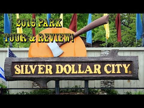 Silver Dollar City 2016 Complete Park Tour, Rides, Food & More!