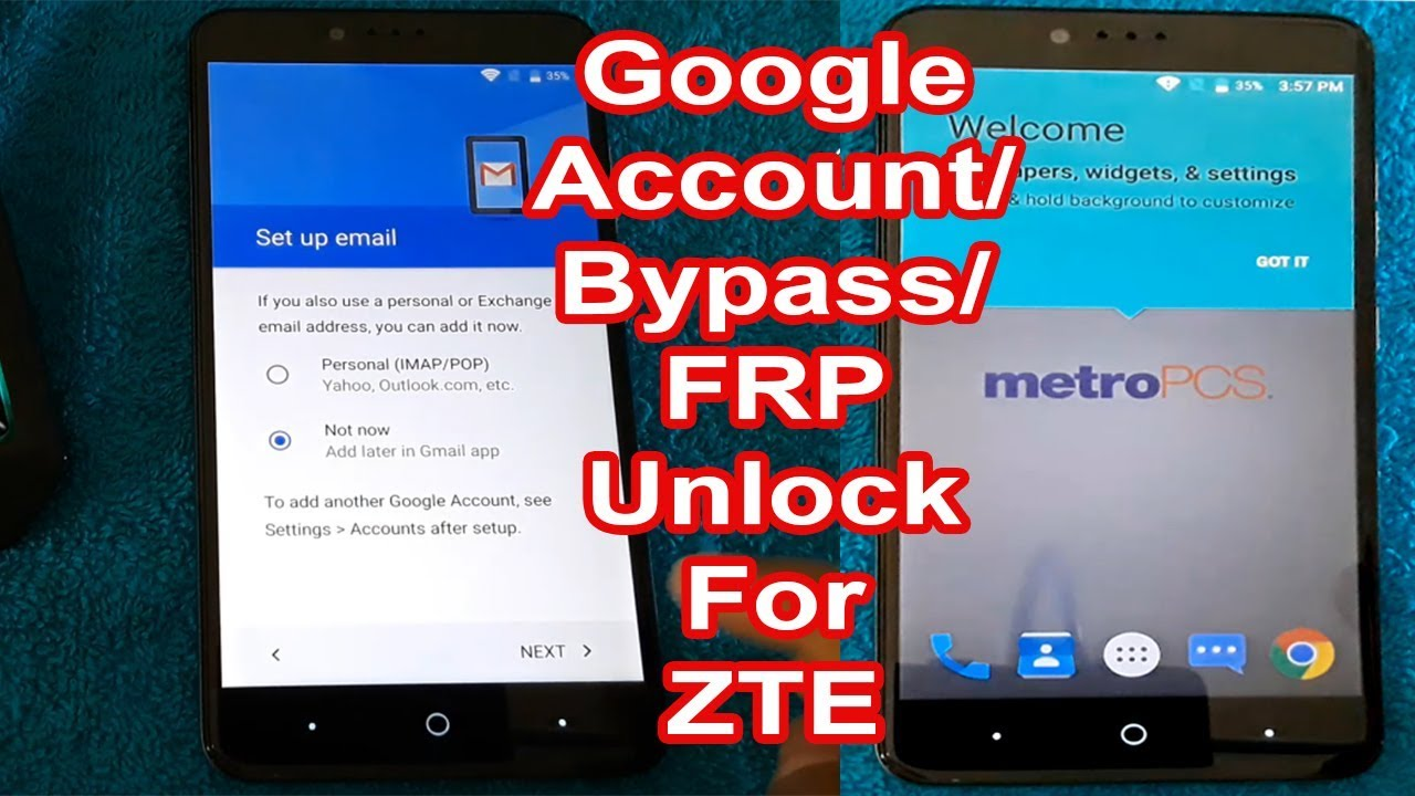 How to Remove FRP Google Account for All ZTE| ZTE Z981 FRP Google account  bypass 100% working tricks