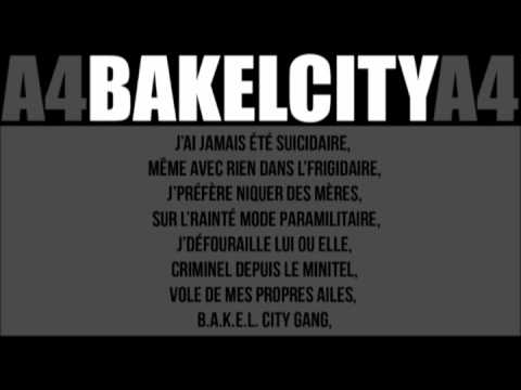 Booba bakel city gang(parole)