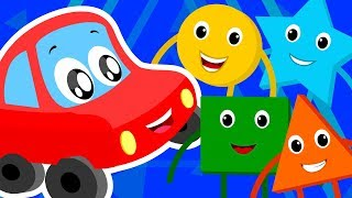 LRC| learn shapes & colors with little red car | educational video by Kids Channel