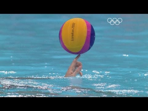 Great Water Polo Highlights - London 2012 Olympics