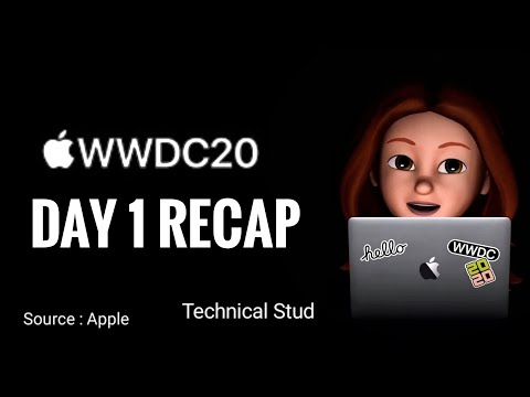 Apple WWDC 2020 Recap – Day 1 : What's New!! 🔥🔥