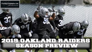 Football Gameplan's 2019 NFL Team Preview: Oakland Raiders