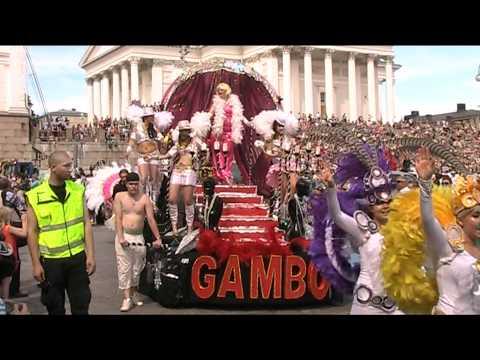 Sambakarnevaalit 2012, Helsinki osa 2, kulkue