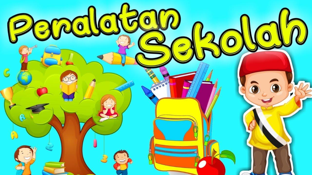 10 KOSAKATA BAHASA ARAB PERALATAN SEKOLAH UNTUK ANAK - PART 3 || ARABIC FOR KIDS