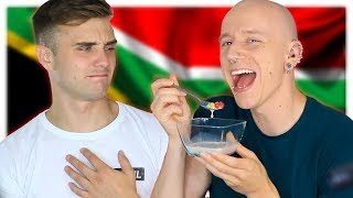 Brits Try South African Candy & Snacks (ft. Calum McSwiggan) | Roly
