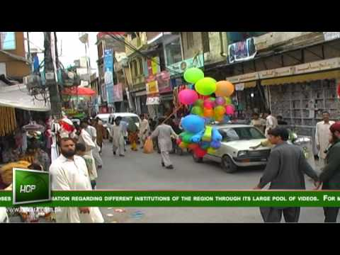 Independence Day Environment in Hazara, Pakistan - 14 August 2012 Coverage - Part 3