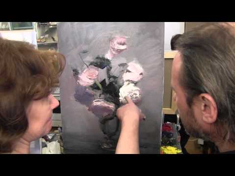 Уроки живописи маслом 'БУКЕТ РОМАШЕК' НОВЫЕ ВИДЕОУРОКИ ИГОРЯ САХАРОВА
