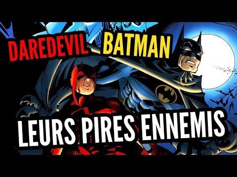 BATMAN / DAREDEVIL : DES ENNEMIS COMMUNS?