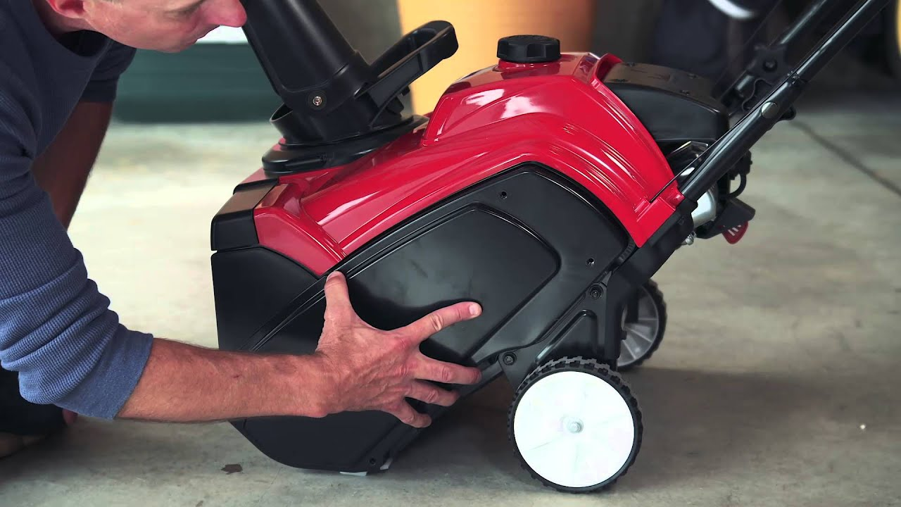 Snow Blower Toro 210r : How to replacing the drive belt on your toro snowblower