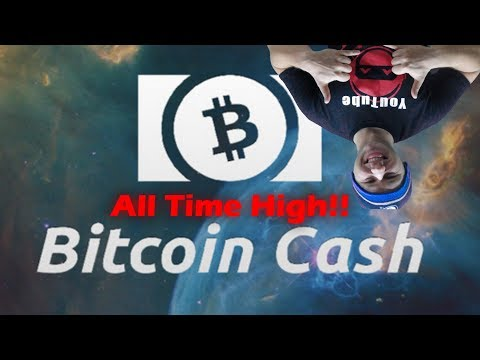 QuadrigaCX - Bitcoin Cash - All Time High! Skyrockets to $1300 CAD | Live Trading