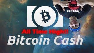 QuadrigaCX - Bitcoin Cash - All Time High! Skyrockets to $1300 CAD | Live Trading