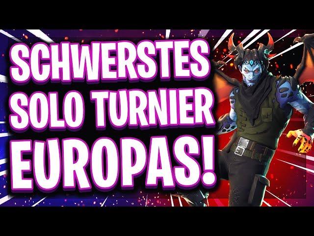 😵🥇DAS SCHWERSTE TURNIER EUROPAS!   Nur die BESTEN Spieler dürfen mitmachen!