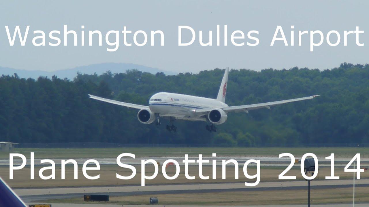 Washington Dulles Airport Plane Spotting - 8/3/2014 - YouTube