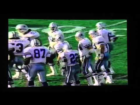 1992 Dallas@LA Raiders Emmitt Smith 3TDs