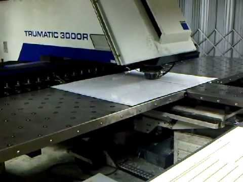 CNC Punch press sheet metal work