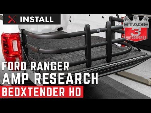 2019 Ranger Standard Bed AMP Research BEDXTENDER HD Install