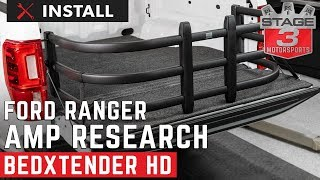 2019 Ranger Standard Bed AMP Research BEDXTENDER HD Install