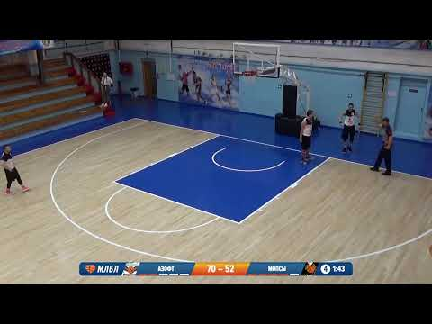 НБА 28.03.2020 1/2 13-16 II группа АЗОФТ - МОПСЫ