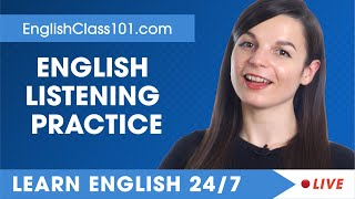 Download lagu Learn English Live 24/7 🔴 English Listening Practice - Daily Conversations ✔