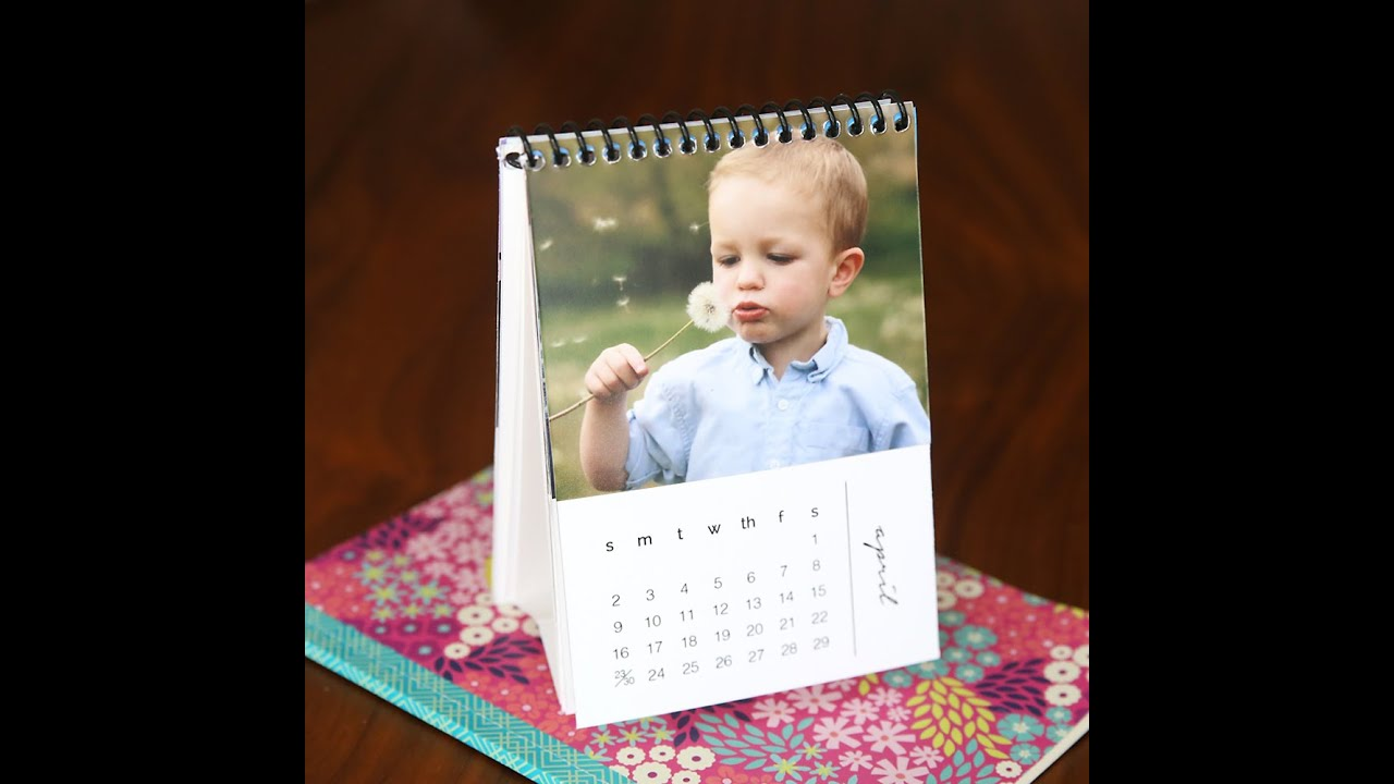 Diy Calendar With Stand : Make a stand for calendar cards youtube