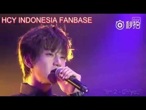 """[Eng Sub] Hwang Chi Yeul """"Yi Lu Shang You Ni"""" live performance"""