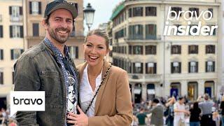 Stassi Schroeder and Beau Clark Go Wedding Venue Shopping in...Rome! | Bravo Insider
